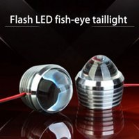 Wholesale super bright headlights motorcycle resale online - Motorcycle Refitting LED Spotlight Decorative Lighting Headlight Super Bright Flashing Security Lights