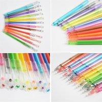 Wholesale gel gems resale online - New Colorful Diamond Gel Pen Crystal Gem Neutral Pen Rewards Gift For Kids Students