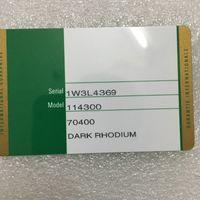 números de relojes al por mayor-Impresión personalizada Modelo Número de serie Dirección En Tarjeta de garantía Calidad original Caja de reloj verde para cajas Rolex Relojes Folletos Etiquetas Papeles