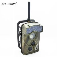 Wholesale acorn cameras resale online - LTL ACORN WMG Photo Traps GSM MMS GPRS Wild Camera Traps MP HD NM IR Trail Hunting Camera Waterproof Scouting Camcorder