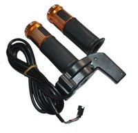 scooters retorcidos al por mayor-12/24/36 / 48v universal de giro del manillar scooter eléctrico puño del acelerador moto E-