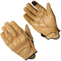 Wholesale s m leather gear for sale - Group buy 2018 Retro Motorcycle Gloves Cow Leather Full Finger Men Women Motocross Racing Glove Motorbike Protective Gears Brown