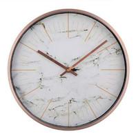 modern metal saat toptan satış-Sessiz Saat Modern Tasarım Kuvars Metal Duvar Saati Tasarımcı Wandklok Saatler Sessiz Horloge duvar