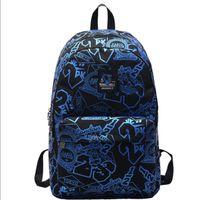 name brand backpack großhandel-Stadt Mode Liebhaber Laptop Tasche Rucksäcke Mode Markenname Reisetasche Schule Rucksäcke große Kapazität Tote Schulter Markenname Taschen 5
