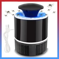 Wholesale meijuner resale online - Meijuner Mosquito Killer Lamp USB Electric No Noise No Radiation Insect Killer Flies Trap Lamp Anti Mosquito Home JQ
