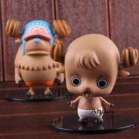 ingrosso figura di azione del chopper tony-Tony Tony Chopper One Piece Anime Action Figure Adorkable Chopper Baby PVC da collezione Model Toy