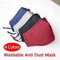 Hot Sale Washable Anti Dust Mask Windproof Mouth-muffle Bacteria Proof Cotton PM2.5 Mask Mouth Anti-fog Haze Keep Warm Face Care Masks