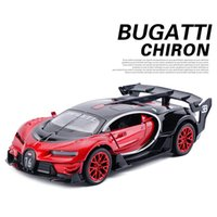 Wholesale gt toys resale online - 1 Bugatti Gt Metal Alloy Diecasts Toy Vehicles Miniature Scale Model Car Toys For Children T200110