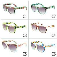 lunettes de sport pour filles achat en gros de-Rétro Enfants Camouflage Lunettes De Soleil Oculos Garçons Filles Lunettes Enfants Sports Lunettes Bébé Gafas UV400 6 couleurs MMA2060