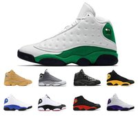 Wholesale sport sheos for sale - Group buy New Mens basketball sheos lucky green s COURT PURPLE black cat Bred BARONS WHEAT HYPER ROYAL mens sports sneakers trainers size