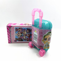 Wholesale toy girls for sale - Group buy 2020 Spy Eye Bling series doll TROLLEY CASE pet doll extension type kid Toy storage box Girls gift for Christmas DHL FREE
