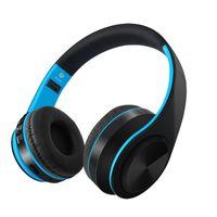 estúdios universal venda por atacado-Sem Fio Bluetooth Headphones Gaming Headset Cartão de Suporte de Música Estéreo TF Cartão Com Microfone Dobrável Headband Estúdio Headphone Melhor Marshall