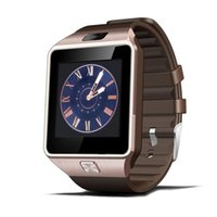 Wholesale i watch bluetooth online - Smartwatch Bluetooth Smart Watch Reloj Relogio G GSM SIM App Sync Mp3 anti lost for i os Android Phones PK DZ09