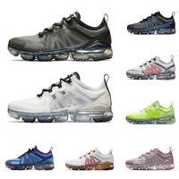 futuro de oro al por mayor-nike air vapormax 2019 Nuevas zapatillas de correr para hombres, mujeres, de alta calidad negro, suave, rosa, CNY Crimson Gold para hombre zapatillas deportivas de moda.