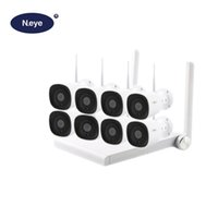 sistema de vigilancia hd a prueba de agua al por mayor-N_eye Sistema de cámara de CCTV inalámbrico profesional HD 1080P 8CH Equipo de vigilancia de video de seguridad para el hogar a prueba de agua al aire libre 2MP