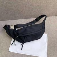 Wholesale black waist bags for women resale online - New Stlye chest pack for men Bumbag Cross Body Shoulder Bag Waist Bags for men Temperament Bumbag Cross Fanny Pack Bum Waist Bags
