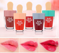 Wholesale lip ice for sale - Group buy Korean ETUDE HOUSE Dear Darling Tint Lipgloss Ice Cream Makeup Liquid Matte Lipstick Lasting Cream Moisturizing Waterproof Lip Gloss Color
