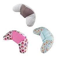 bebek boyun minderi toptan satış-Çocuklar Bebek Araba Styling Boyun Kafalık Yastık Araba Koltuğu Omuz Kemer Yastık Uyku Yastık Emniyet Kemeri Yastık Baş Desteği