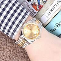 relojes bewegungsuhr großhandel-Uhren hombre luxus diamant armbanduhren neue marke automatische uhr männer mode designer herren mechanische uhren bewegung tag datum uhr