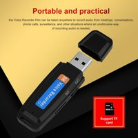 Wholesale u disk shaped for sale - Group buy SK U Disk Shaped Recorder USB Digital Voice Recorder Flash Drive Mini Audio