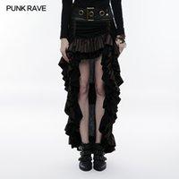 neue punkkleidung großhandel-Neue Punk Rave Steampunk wunderschöne Mode viktorianischen geschichteten Frauen Rock Performance Kleidung WQ347