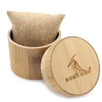 ingrosso gli oggetti di gioielleria-BOBO BIRD Scatola di bambù vuota per orologio / orologio e portagioie