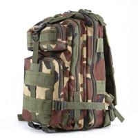 kostenlose militärische rucksäcke großhandel-9 Stil Outdoor Sports Camouflage Rucksack Militärische Taktische Reiserucksack Rucksäcke Camping Trekking Bag Bergwandern Tasche Freies DHL