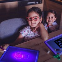 Wholesale size tablets for sale - Group buy New arrivals A4 A3 A5 size fluorescent drawing pad glowing in dark led drawing board kt material Luminous Drawing Board