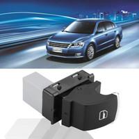vw passat b6 schaltet großhandel-HQRP Chrom Beifahrer Fenster Power Schalter Kompatibel mit VW GOLF JETTA MK5 MK6 PASSAT CC B6 5ND959855 Ersatz.