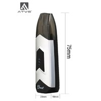 Wholesale Original ATVS Ghost Starter Kits mAh Battery Portable Box Mod ml Ceramic Cartridg Vaporizer Kit Authentic