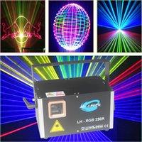 dj rosa venda por atacado-Luz de Palco DMX DJ Disco Party ILDA luz laser 3000mW Vermelho verde rosa azul branco Violeta Amarelo