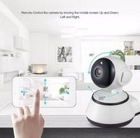 video hots al por mayor-Detección Wholwsale cámara de WiFi del hogar de la cámara de seguridad IP caliente de vigilancia de vídeo 720p de visión nocturna Movimiento P2P cámara del monitor del bebé zoom