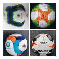 Wholesale soccer ball free shipping for sale - Group buy Best quality European Cup Soccer ball pu size balls granules slip resistant football high quality ball