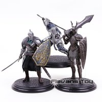 Wholesale dark knight toy resale online - Hot Game Dark Souls Black Knight Faraam Knight Artorias The Abysswalker PVC Statue Figure Collectible Model Toy T191129