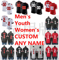 Wholesale black college football for sale - Group buy NCAA Ohio State Buckeyes Jerseys Justin Fields Jersey JK Dobbins Chase Young Fuller Garrett Wilson College Football Jersey Custom Stitched