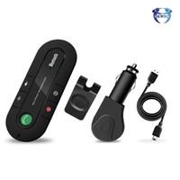 Wholesale clip bluetooth speaker for sale - Group buy Bluetooth Receiver Car Speakers Sun Visor Clip Speakerphone Audio Adapter Handsfree Car Kit MP3 Music Player