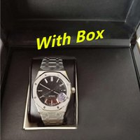 Wholesale black paper tags for sale - Group buy luxury watch mm ROYAL OAK ST Automatic watch Box papers Ceramic bezel movement Wristwatches mens watches watch watches