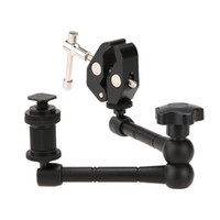 Wholesale camera arms clamps resale online - 11 quot Inch Articulating Magic Arm Super Clamp Crab Plier Clip for Camera DS LED Light Camera Accessories