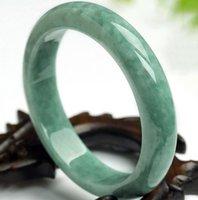 pulseiras de jade venda por atacado-Pulseira de jade natural de alta qualidade também. Venda direta da fábrica. Frete grátis, (não de vidro) Frete Grátis