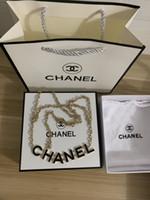 Wholesale gold waist necklace chain resale online - New hot sale fashion designer ladies belt waist chain necklace ladies waist chain with box