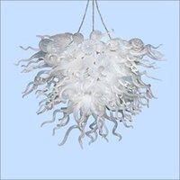 kolye lambası yapmak toptan satış-Düğün Centerpieces El Yapımı Cam kolye lambalar Üflemeli Çin Hand Cam Avize Ev Dekorasyonu Murano Sanat Işık Made in Üflemeli