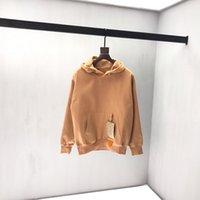 roupas de caxemira para mulheres venda por atacado-19ss Luxo Outono Inverno Europa Paris LOGOTIPO Tag Cashmere Camel Hoodies Moda Masculina Roupas Moletom Com Capuz Mulheres Com Capuz