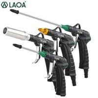 Wholesale air gun pressure resale online - LAOA High Pressure Aluminum Alloy Blow Gun Air Gun Jet Professional Cleaning Tools Dust Blow