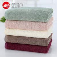 algodão de bambu da fábrica venda por atacado-toalha de algodão natural cor sólida Wormwood Bamboo fibra de celulose toalha-Skin amigável absorção de água toalha de rosto atacado fábrica