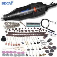 Wholesale dremel electric grinder resale online - BDCAT w Dremel Electric Rotary Grinder Tool Mini Drill Grinding Engraving Polishing Machine with Power Tools Accessory