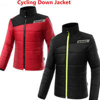 Wholesale reflective motorcycle vest for sale - Group buy Motorcycle Riding Down Jacket Casual Sets Riding suit Autumn and Winter Warm Motorcycle clothing Knight racing fluorescent reflective vests