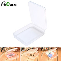 Wholesale tip nail storage box case resale online - Empty Container Storage Case Clear Box For puff False Eyelash beads bracelet Earrings Nail Tips Glitters sundries