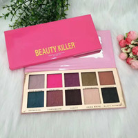 Wholesale factory price Hot new makeup palette BEAUTY KILLER color Eyeshadow palette Eyeshadow palettes ePacket