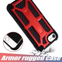 Wholesale Hybrid Armor Case Phone Cover for iPhone X XR XS Rugged Cases Shockproof For Samsung S9 with OPP Package