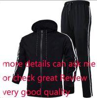 vestuário de moda logo venda por atacado-Autumn Fatos para homens Marca Designer Coats TopsPants Ternos Logo Moda Homens Cardigan hoodies camisolas Zipped Mens Clothing